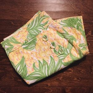 LILLY PULITZER - PINEAPPLE SKIRT